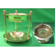 Domáce kadidlo (zlatá farba, kov)