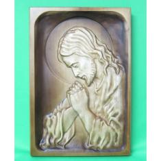 Drevorezba: Modliaci sa Ježiš (DR-2F)