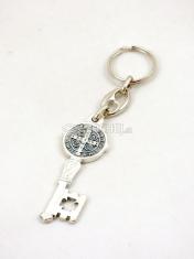 Kľúčenka kov.  PC 96-OX (Benediktínsky kľúč)