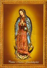 Obrázok: Panna Mária Guadalupská (A6) - s modlitbou, laminovaný