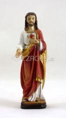 Soška: Srdce Pána Ježiša - 12 cm