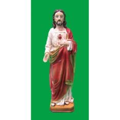 Soška: Srdce Pána Ježiša - 20 cm