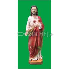 Socha: Srdce Pána Ježiša - 30 cm