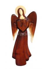 Drevorezba: Anjel, krídla dole - veľký (JC02-B)