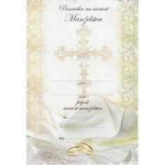 Pamiatka na sviatosť Manželstva (04.0040-4)