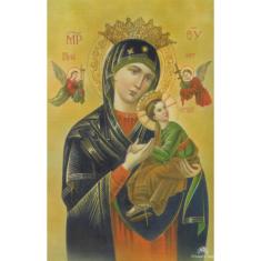 Obrázok: Matka ustavičnej pomoci - smútočný (6003)