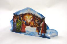 Betlehem: papierový výsek (BW-085)