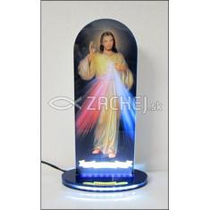 Oltárik: Božie milosrdenstvo - s led podsvietením
