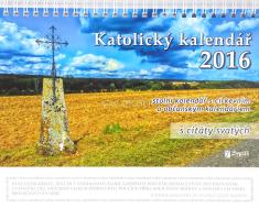 Kalendář 2016 - katolický s citáty svatých - Stolní kalendář s citáty svatých