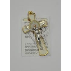 Prívesok: krížik na 1.sv. prijímanie (G113) - so šnúrkou