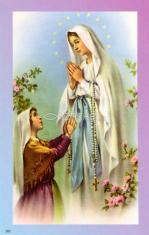 Obrázok: Panna Mária (202/34) - Modlitba k Panne Márii za uzdravenie chorých, laminovaný