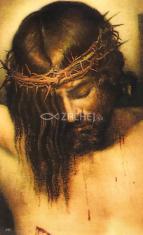 Obrázok: Ukrižovaný Ježiš (243/184) - Modlitba ku plecovej rane Pána Ježiša, laminovaný