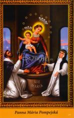 Obrázok: Panna Mária Pompejská  (278/182) - s modlitbou, laminovaný