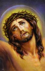 Obrázok: Ukrižovaný Kristus (279/168) - Modlitba k Ukrižovanému, laminovaný