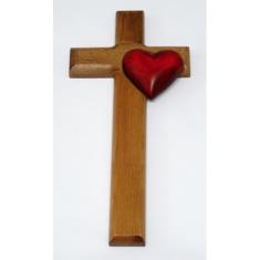 Kríž - srdiečko