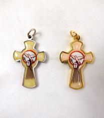 Prívesok: krížik - Duch Svätý (G069)