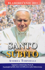 Santo Subito (mäkká väzba) - Tajomstvo svätosti Jána Pavla II.