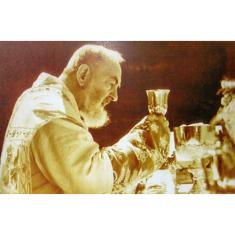 Obraz na dreve: Páter Pio (40x30)