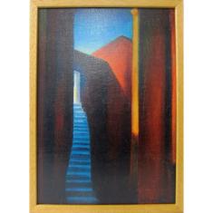 Obraz v ráme: Schody a tesná brána do neba