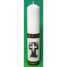 Sviečka kostolná zdobená 700g (B0010)