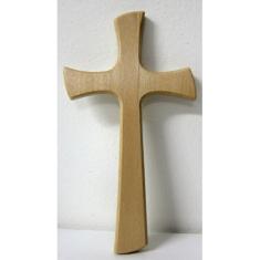 Kríž: drevený, labovaný
