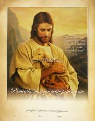 Pamiatka na 1. sväté prijímanie: Ježiš, dobrý Pastier