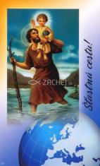 Obrázok: Sv. Krištof (271/60) - Desatoro vodiča, laminovaný