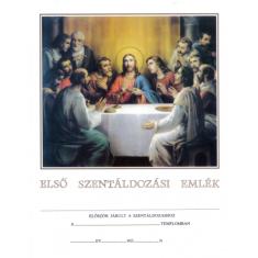 Pamiatka na prvé sväté prijímanie (maďarsky)