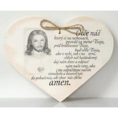 Drevené srdce: Otče náš...