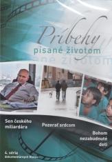 DVD: Príbehy písané životom - 4. séria - dokumentárne filmy