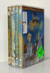 4 DVD - Animované príbehy velikánov dejín 3