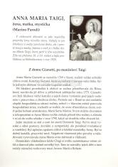 Skladačka: Anna Maria Taigi - žena, matka, mystička