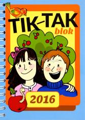 Tik - tak blok 2016 - detský diár