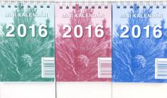 Minikalendár 2016 stolový (Neografia)