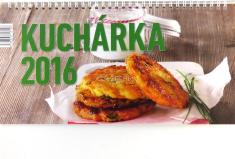 Kalendár 2016 Kuchárka, stolový (Neografia)
