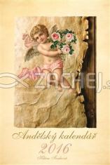 Kalendář 2016 - Andělský - závěsný kalendář