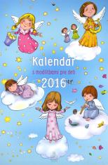 Kalendár s modlitbami pre deti 2016 nástenný (SSV)