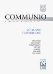 Communio 2/2012 - Catholicam et apostolicam - Mezinárodní katolická revue 16. ročník - svazek 63
