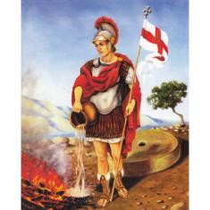 Zachej.sk • Obraz na dreve  Sv. Florián (25x20) • skladom 64a1114e83d