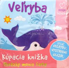 Veľryba (kúpacia knižka) - leporelo do vody