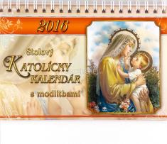 Katolícky kalendár 2016 stolový s modlitbami (JH)