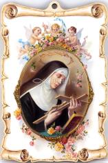 Obraz na dreve: Sv. Rita (15x10)