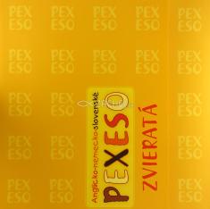 Anglicko-nemecko-slovenské pexeso (zvieratá)