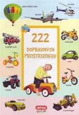 222 dopravných prostriedkov - leporelo