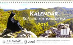 Kalendár 2016 stolový Božieho Milosrdenstva (dvojtýždenný)