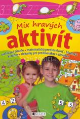 Mix hravých aktivít (pre deti 6+) - maľované čítanie, matematická predstavivosť, bludiská, komiksy, riekanky pre predškolákov a školákov