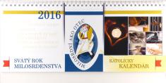 Katolícky kalendár 2016 stolový - Svätý rok milosrdenstva