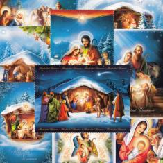 Pohľadnica vianočná bez textu (Via)