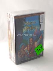 4 DVD - Animované príbehy velikánov dejín 4