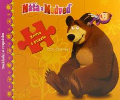 Máša a Medveď: Kniha s puzzle - Kniha s puzzle pre najmenších čitateľov!